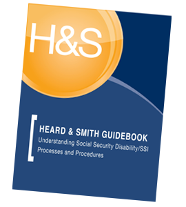 Heard and Smith Social Security Disability Guidebook